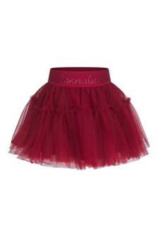 Baby Girls Red Tulle Skirt