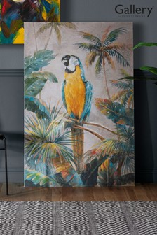 Exotic Macaw Canvas by Gallery Direct