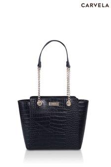 Carvela Black Mini Deedee Bag