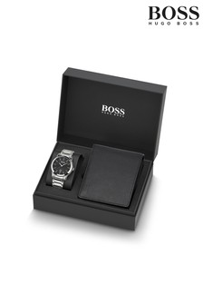 BOSS Mens Classic Watch And Wallet Gift Set