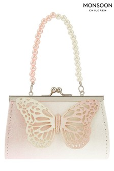 Monsoon Metallic Pretty Ombre Butterfly Mini Bag