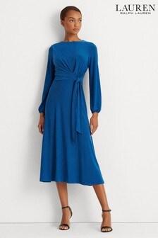 Lauren Ralph Lauren® Stretch Wrap Effect Kerrari Dress