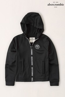 Abercrombie & Fitch Black Logo Hoody
