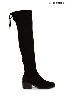 Steve Madden Black Gerardine Boots