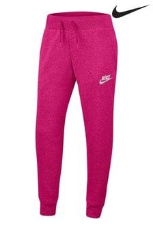 Nike Pink Premium Essential Joggers
