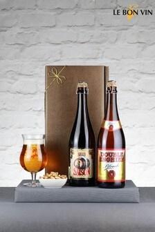 The Big Belgian Beer Appreciation Gift Set by Le Bon Vin