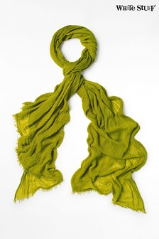 White Stuff Green Dreaming Away Scarf