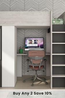 Montblanc Highsleeper With Desk ,Shelf And Wardrobe By Trasman