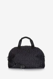Tiba + Marl Black/Gunmetal Quilt RAF Weekender Bag