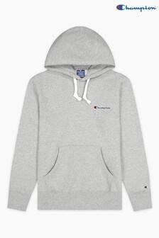 Champion Grey Hooded Sweatshirt