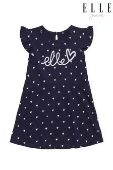 ELLE Frill Sleeve Dress