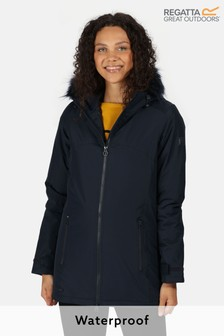 Regatta Blue Myla Waterproof Jacket