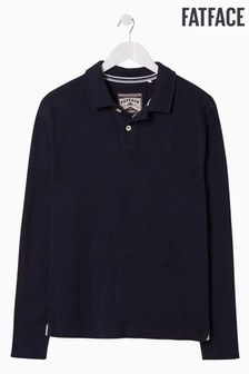 FatFace Blue Kelby Plain Polo