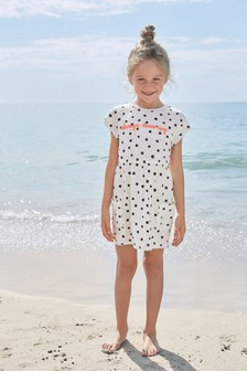 Short Sleeve Printed Dress (3-16yrs)