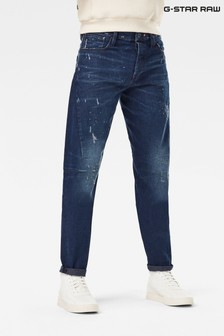G-Star Scutar 3D Slim Tapered Kara Denim Jeans