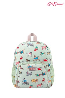 Cath Kidston Kids Green Small Park Dogs Classic Large Backpack