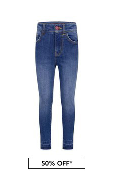 Zadig & Voltaire Girls Blue Slim Fit Jeans
