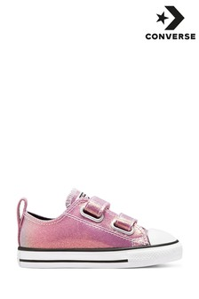 Converse Iridescent Shine Chuck Ox Infant Trainers