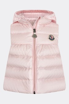 Baby Girls Pink New Suzette Gilet