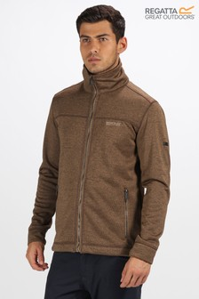 Regatta Brown Galton Full Zip Fleece