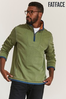 FatFace Green Airlie Sweater
