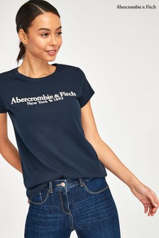 Abercrombie & Fitch Blue T-Shirt