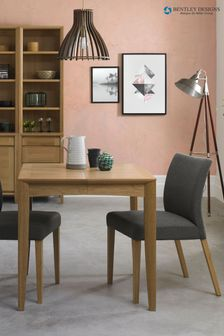 Bergen Oak 2 to 4 Extending Table By Bentley Designs