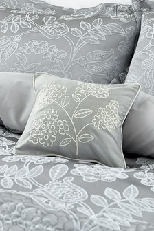 Helena Springfield Letty Embroidered Floral Cushion