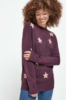 Long Sparkle Star Tunic