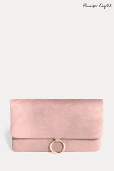 Phase Eight Pink Gisele Clutch Bag