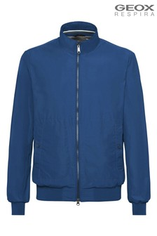 Geox Men's Vincit Blue Bomber Jacket