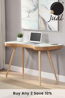 San Francisco Oak Desk By Jual