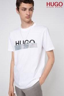 HUGO Dicagolino Duct Tape Logo T-Shirt