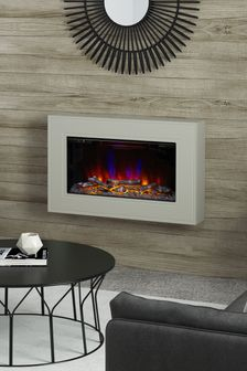 Albali Wall Hung Electric Fire by Be Modern®