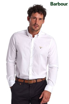 Barbour® White Saltire Stretch Poplin Shirt