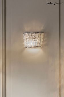 Gallery Direct Silver Sophie Wall Light
