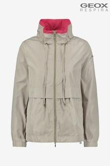 Geox Women's Genziana Cream Short Jacket