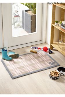 Washable And Recycled Country Check Doormat by Howler & Scratch
