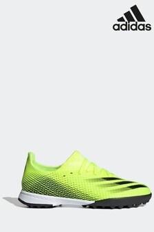 adidas Yellow Kids P3 Turf Football Boots