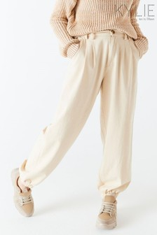 Kylie Natural Balloon Trousers