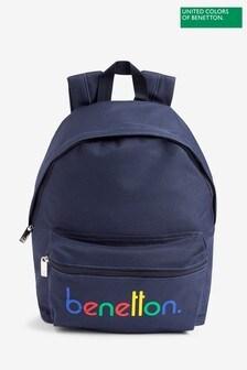 Benetton Navy Back Pack