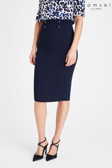 Damsel In A Dress Blue Nina City Suit Skirt