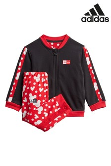 adidas Infant Black Minnie Mouse™ Tracksuit