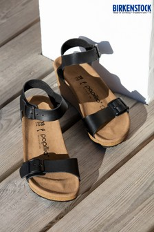 Papillio by Birkenstock® Black Wedge Sandals
