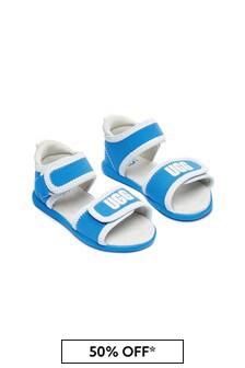 UGG Boys Blue Delta Sandals