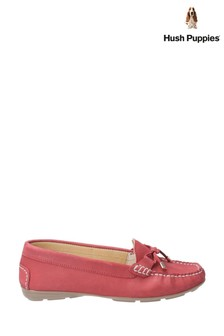 Hush Puppies Red Maggie Slip-On Toggle Shoes