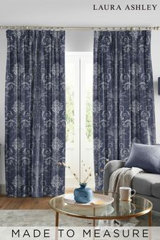 Laura Ashley Josette Midnight Made to Measure Curtains