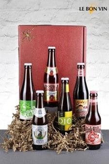 Set of Artisan Beer Taster Gift Set by Le Bon Vin