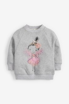 Sparkle Fairy Sweatshirt (3mths-7yrs)