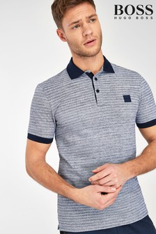 BOSS Two Tone Poloshirt